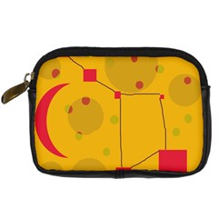 Yellow abstract sky Digital Camera Cases
