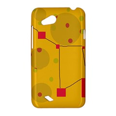 Yellow abstract sky HTC Desire VC (T328D) Hardshell Case