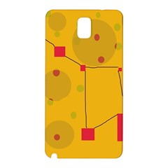 Yellow abstract sky Samsung Galaxy Note 3 N9005 Hardshell Back Case