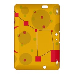 Yellow abstract sky Kindle Fire HDX 8.9  Hardshell Case