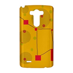 Yellow abstract sky LG G3 Hardshell Case
