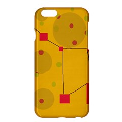 Yellow abstract sky Apple iPhone 6 Plus/6S Plus Hardshell Case