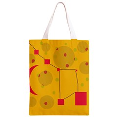 Yellow abstract sky Classic Light Tote Bag
