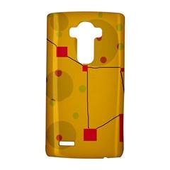 Yellow abstract sky LG G4 Hardshell Case