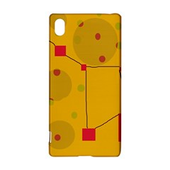 Yellow abstract sky Sony Xperia Z3+