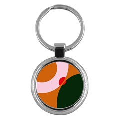Decorative abstraction  Key Chains (Round)