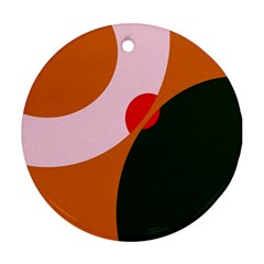 Decorative abstraction  Round Ornament (Two Sides)
