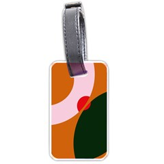 Decorative Abstraction  Luggage Tags (two Sides)