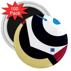 Digital abstraction 3  Magnets (100 pack)