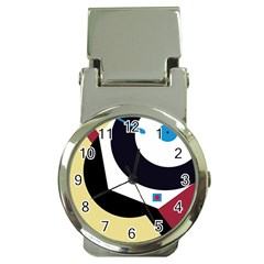 Digital abstraction Money Clip Watches