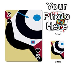 Digital abstraction Playing Cards 54 Designs
