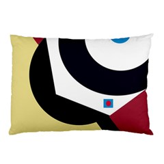 Digital abstraction Pillow Case (Two Sides)