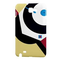 Digital abstraction Samsung Galaxy Note 1 Hardshell Case