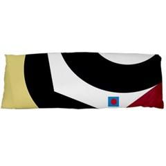 Digital abstraction Body Pillow Case (Dakimakura)