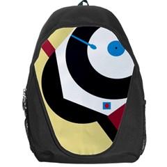 Digital abstraction Backpack Bag
