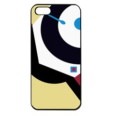 Digital abstraction Apple iPhone 5 Seamless Case (Black)