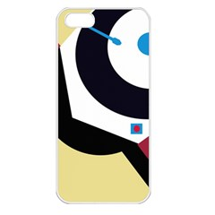 Digital abstraction Apple iPhone 5 Seamless Case (White)