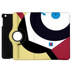 Digital abstraction Apple iPad Mini Flip 360 Case