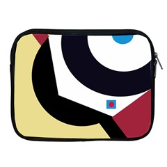 Digital abstraction Apple iPad 2/3/4 Zipper Cases