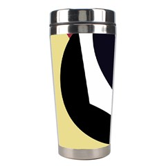 Digital abstraction Stainless Steel Travel Tumblers