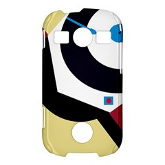 Digital abstraction Samsung Galaxy S7710 Xcover 2 Hardshell Case