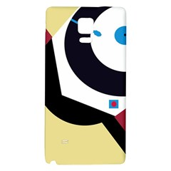 Digital abstraction Galaxy Note 4 Back Case
