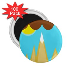 Abstract landscape  2.25  Magnets (100 pack)