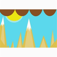 Abstract landscape  Collage Prints