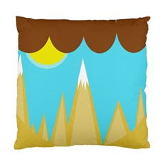 Abstract landscape  Standard Cushion Case (One Side)