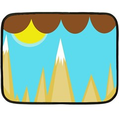 Abstract landscape  Fleece Blanket (Mini)