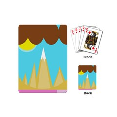 Abstract landscape  Playing Cards (Mini)