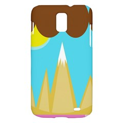 Abstract landscape  Samsung Galaxy S II Skyrocket Hardshell Case