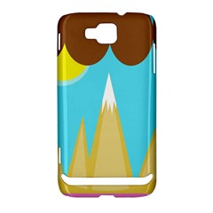 Abstract landscape  Samsung Ativ S i8750 Hardshell Case
