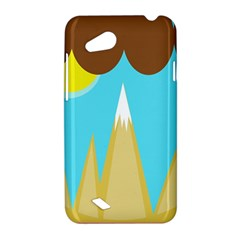 Abstract landscape  HTC Desire VC (T328D) Hardshell Case