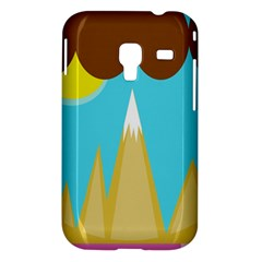 Abstract landscape  Samsung Galaxy Ace Plus S7500 Hardshell Case