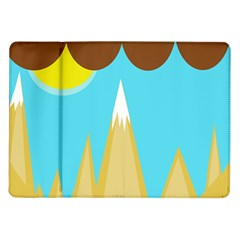 Abstract landscape  Samsung Galaxy Tab 10.1  P7500 Flip Case