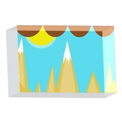 Abstract landscape  4 x 6  Acrylic Photo Blocks