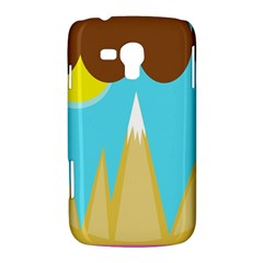 Abstract landscape  Samsung Galaxy Duos I8262 Hardshell Case