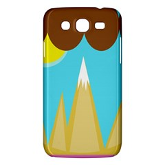 Abstract landscape  Samsung Galaxy Mega 5.8 I9152 Hardshell Case