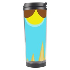 Abstract landscape  Travel Tumbler