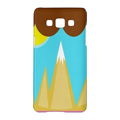 Abstract landscape  Samsung Galaxy A5 Hardshell Case