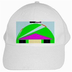 Abstract landscape  White Cap