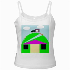 Abstract landscape  Ladies Camisoles
