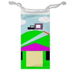 Abstract Landscape  Jewelry Bags