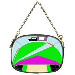 Abstract landscape  Chain Purses (Two Sides)