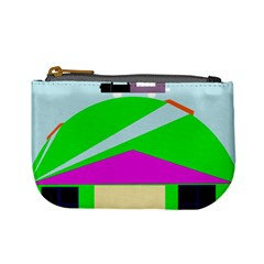 Abstract landscape  Mini Coin Purses