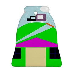 Abstract Landscape  Ornament (bell)