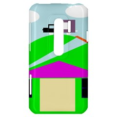 Abstract landscape  HTC Evo 3D Hardshell Case