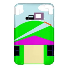 Abstract landscape  Kindle 3 Keyboard 3G