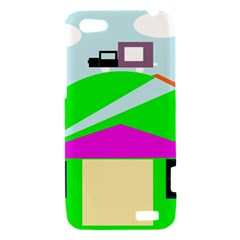 Abstract landscape  HTC One V Hardshell Case